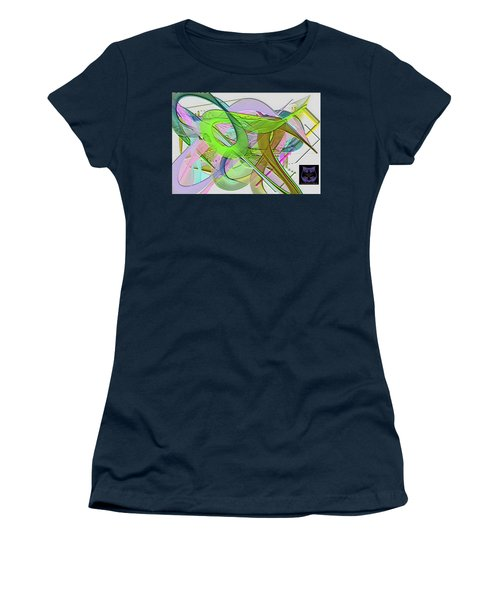 Women's T-Shirt featuring the digital art Soft Light by Visual Artist Frank Bonilla