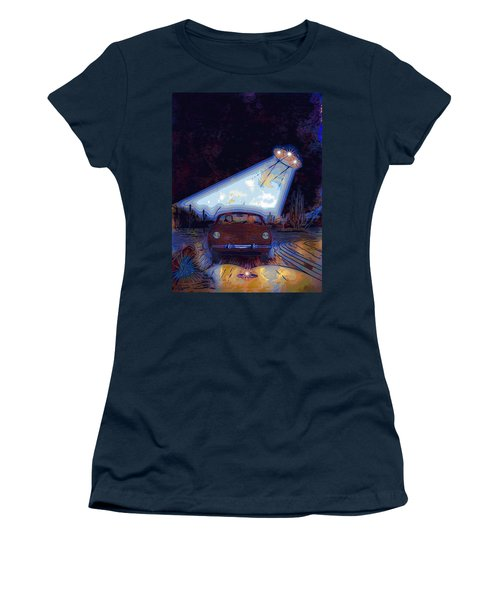 Some Enchanted Evening-retro Romance Women's T-Shirt (Athletic Fit)