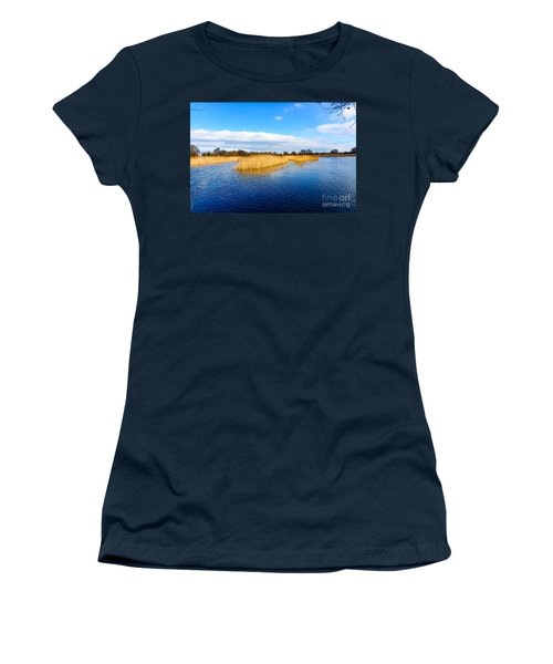 Women's T-Shirt (Junior Cut) featuring the photograph Somerset Levels by Colin Rayner
