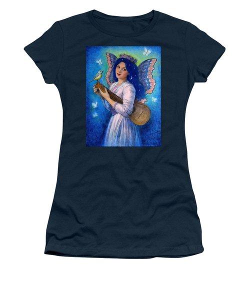 Songbird For A Blue Muse Women's T-Shirt