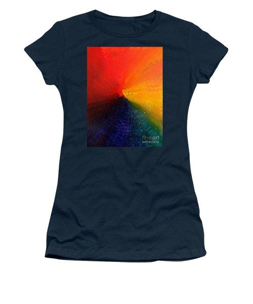 Spectral Spiral  Women's T-Shirt
