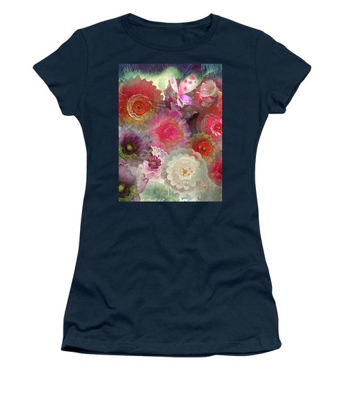 Women's T-Shirt (Junior Cut) featuring the photograph Spring Glass by Jeff Burgess