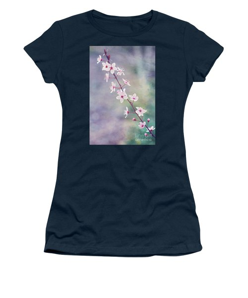 Women's T-Shirt (Athletic Fit) featuring the photograph Spring Splendor by Linda Lees