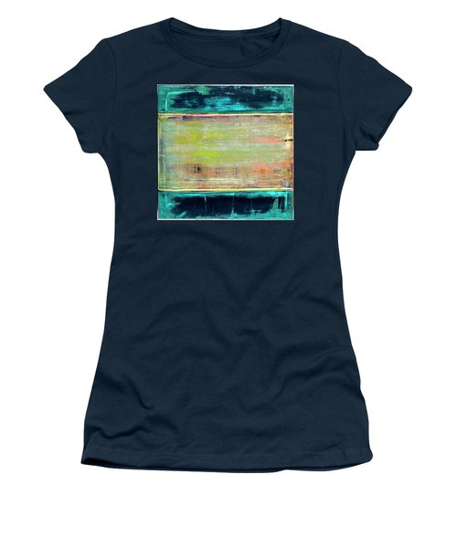 Art Print Square3 Women's T-Shirt (Athletic Fit)