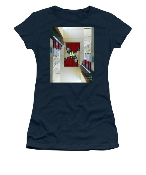 Women's T-Shirt (Junior Cut) featuring the photograph Squares by Brian Jones
