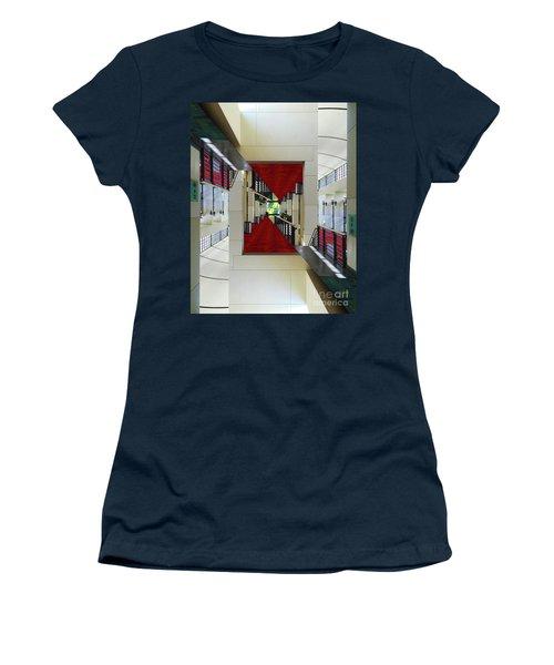 Squares Women's T-Shirt (Athletic Fit)