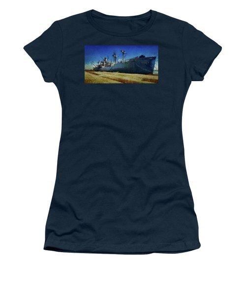 Ss Lane Victory Women's T-Shirt (Junior Cut) by Joseph Hollingsworth