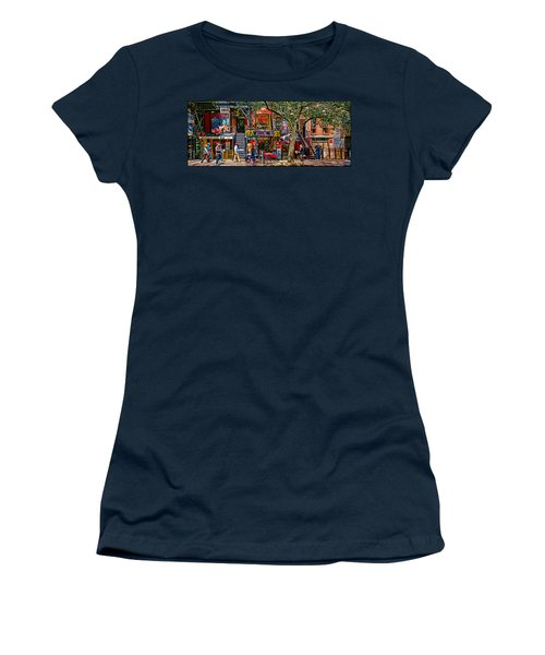 St Marks Place Women's T-Shirt (Athletic Fit)