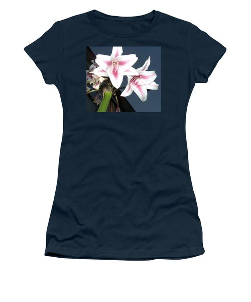 Star Flower Women's T-Shirt (Athletic Fit)
