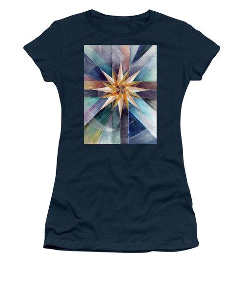 Star Mandala 2  Women's T-Shirt (Athletic Fit)