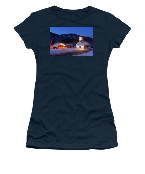 Stark New Hampshire Women's T-Shirt (Junior Cut) by Robert Clifford