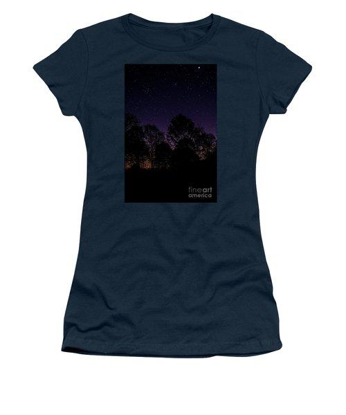 Women's T-Shirt (Junior Cut) featuring the photograph Stars by Brian Jones