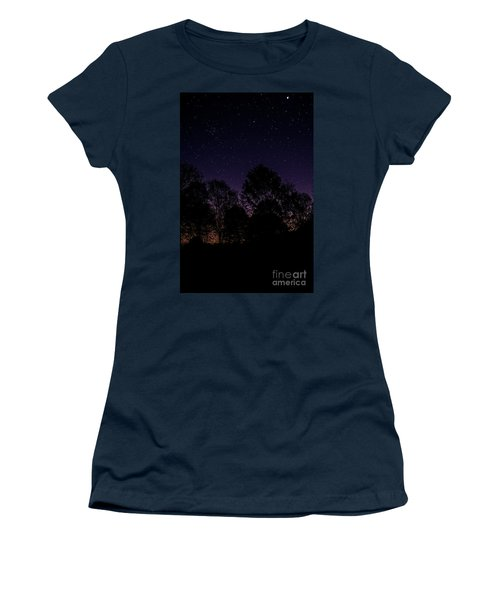 Stars Women's T-Shirt (Athletic Fit)