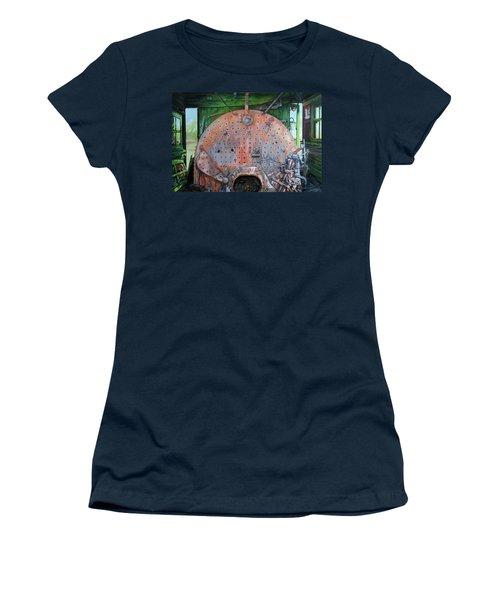 Steel Heart Women's T-Shirt (Athletic Fit)