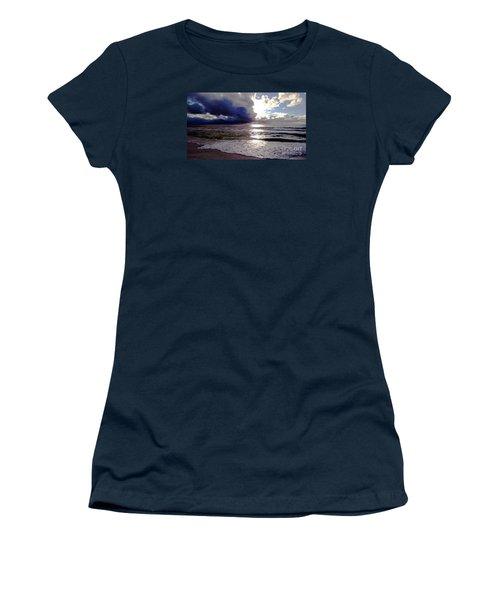 Storm Clouds 1 Women's T-Shirt (Junior Cut) by Vicky Tarcau