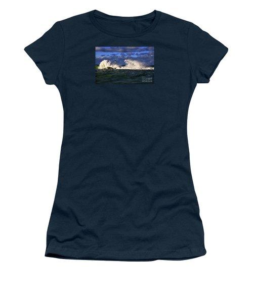 Storm Surf Batters Breakwater Women's T-Shirt