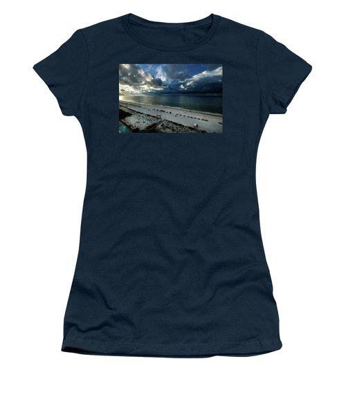 Storms Over The Gulf Of Mexico Women's T-Shirt