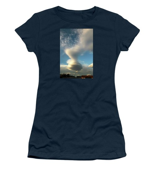 Strange Cloudform Women's T-Shirt (Athletic Fit)