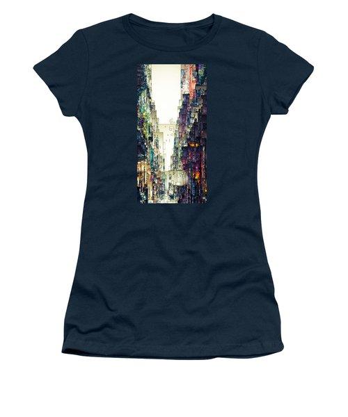 Streetscape 1 Women's T-Shirt (Junior Cut) by David Hansen