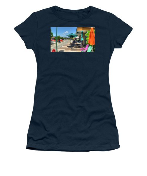 Streetside Dining Women's T-Shirt (Athletic Fit)