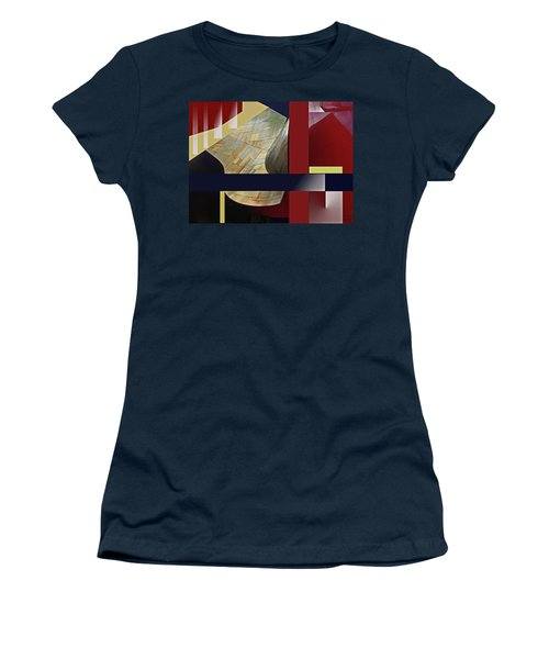 Structure 0217 Women's T-Shirt (Junior Cut) by Walter Fahmy
