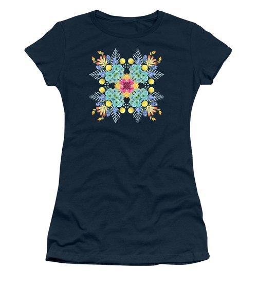 Summer Garden Pattern Women's T-Shirt
