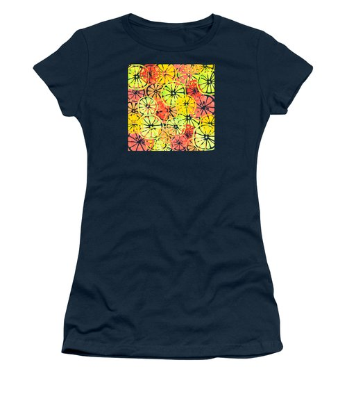 Summer Lemons Women's T-Shirt (Athletic Fit)