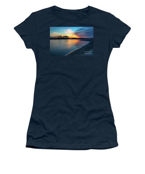 Summer Sunrise At The Inlet Women's T-Shirt