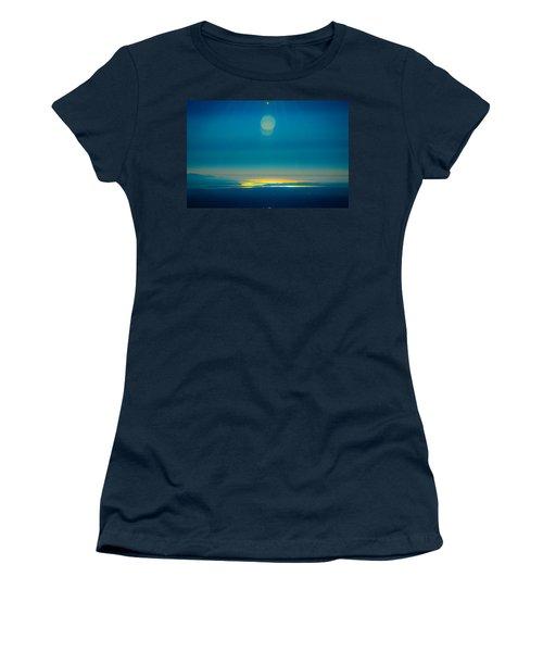 Sun Going Down On The Sound Women's T-Shirt