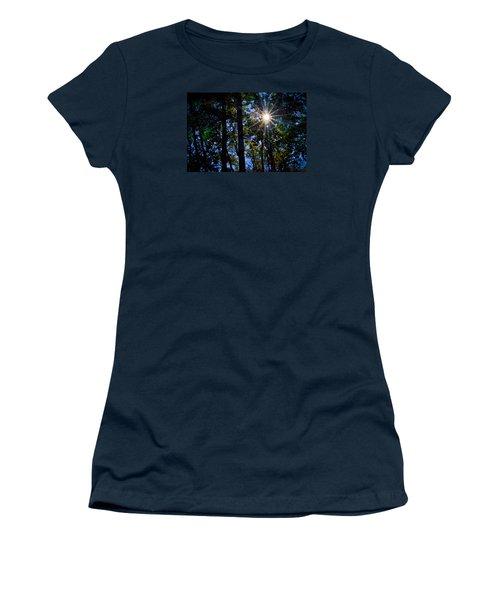 Sun Star Women's T-Shirt (Junior Cut) by Carlee Ojeda