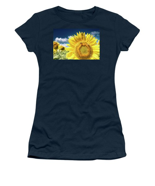 Sunflower Dreams Women's T-Shirt (Athletic Fit)