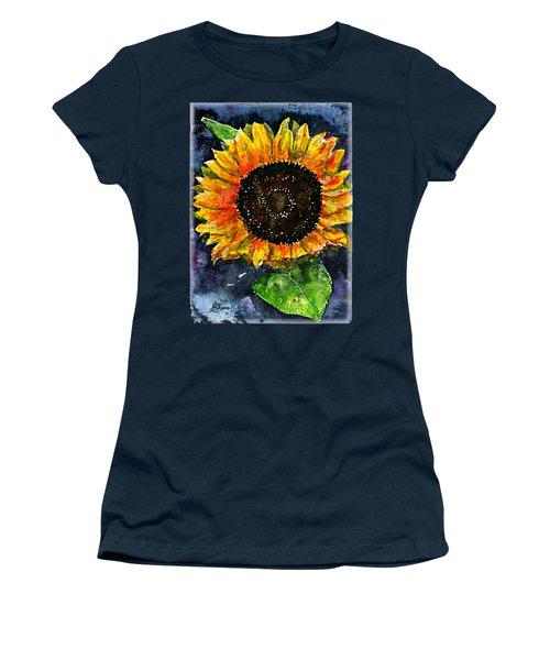 Sunflower Shirt Women's T-Shirt (Athletic Fit)