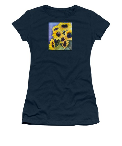 Sunflowers 17 Women's T-Shirt (Athletic Fit)