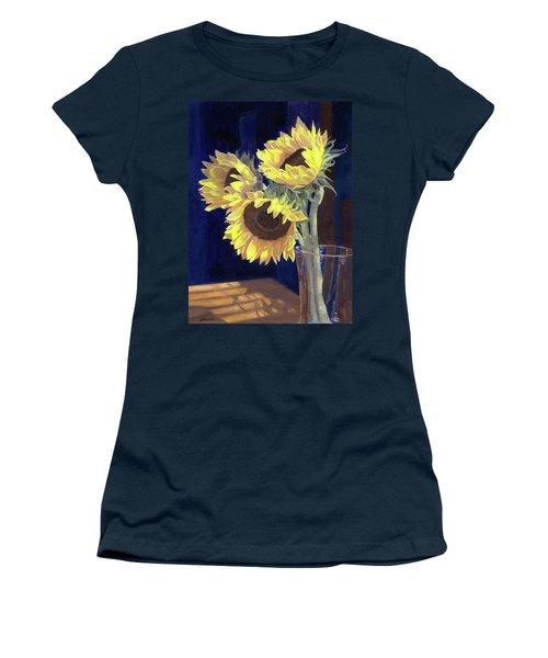 Sunflowers And Light Women's T-Shirt