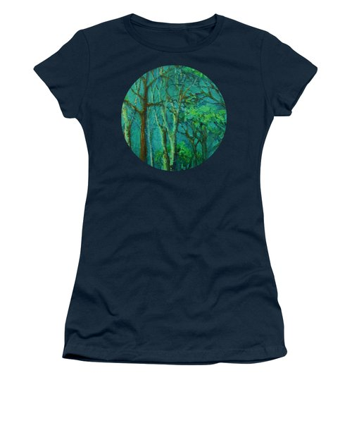 Sunlit Woodland Path Women's T-Shirt