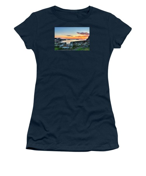 Sunrise At Castle Rock Marblehead Ma Women's T-Shirt (Athletic Fit)