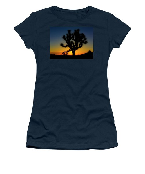 Sunrise At Joshua Women's T-Shirt (Athletic Fit)