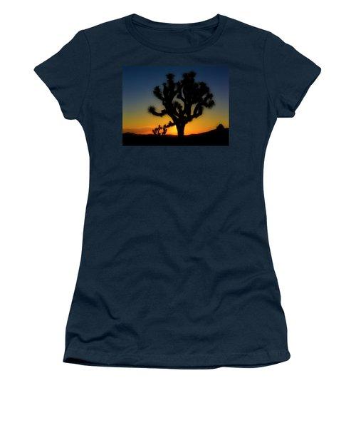 Sunrise At Joshua Women's T-Shirt (Junior Cut)