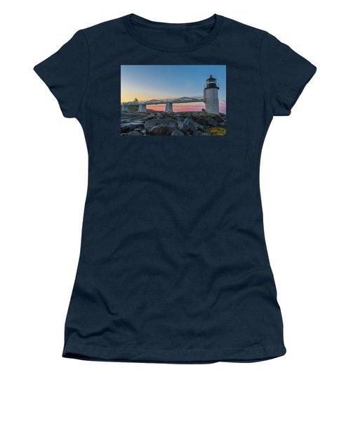 Sunrise At Marshall Point Women's T-Shirt
