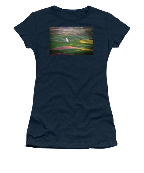 Sunrise From Steptoe Butte. Women's T-Shirt