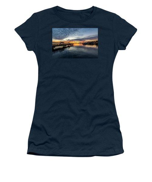 Sunrise Less Davice Pier Women's T-Shirt