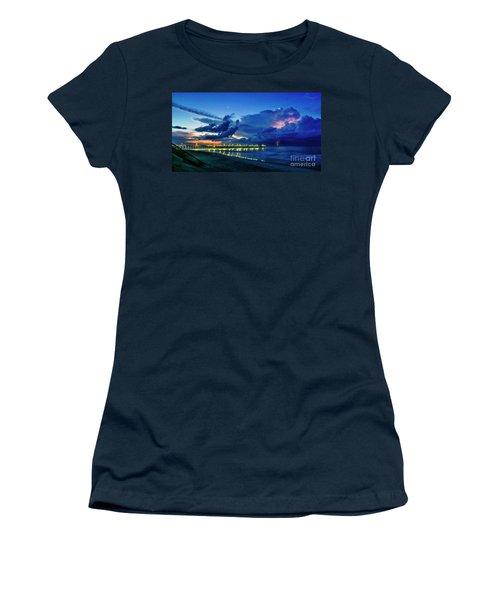 Sunrise Lightning Women's T-Shirt
