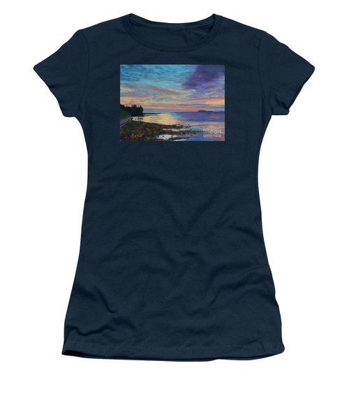 Sunrise On Tancook Island  Women's T-Shirt (Junior Cut) by Rae  Smith PAC