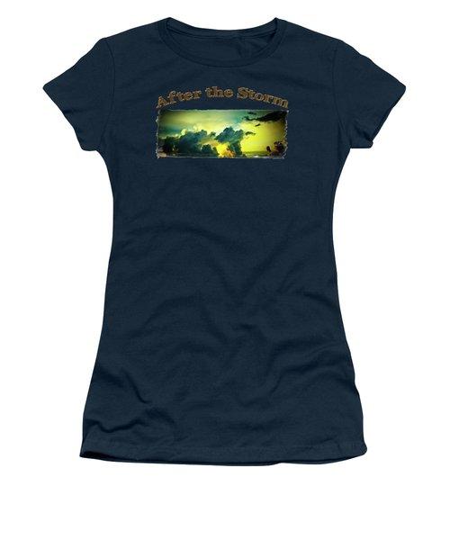 Sunset After The Storm Women's T-Shirt