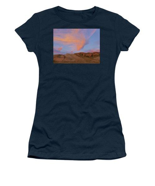 Sunset Clouds, Badlands Women's T-Shirt
