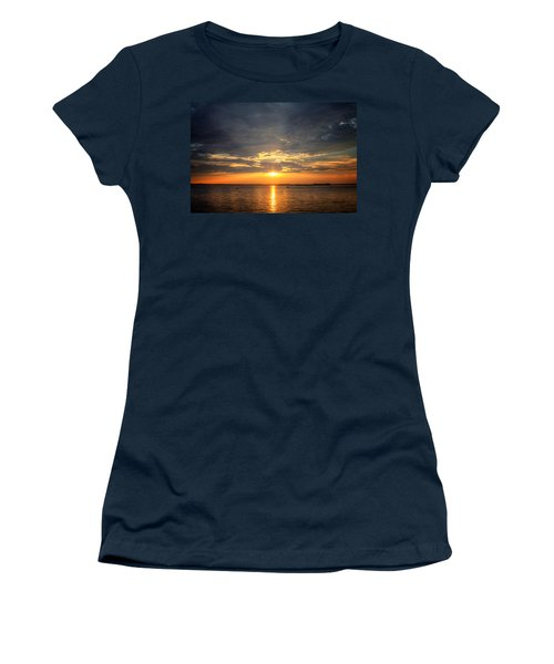 Sunset On Lake Hartwell Women's T-Shirt (Athletic Fit)