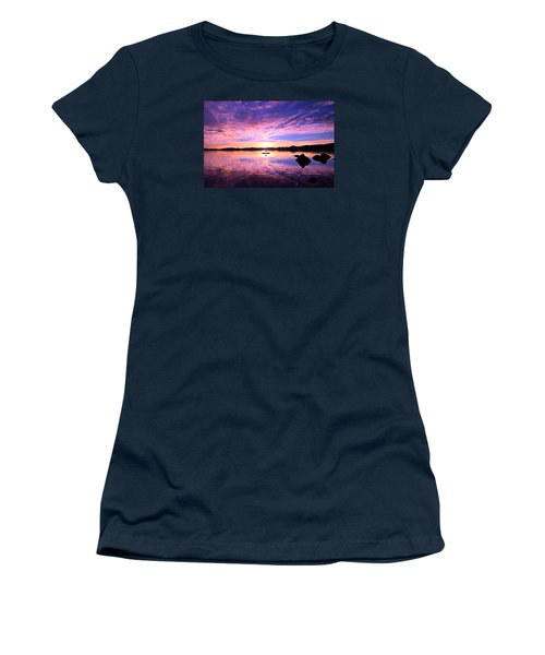Sunset Supper Women's T-Shirt (Junior Cut) by Sean Sarsfield