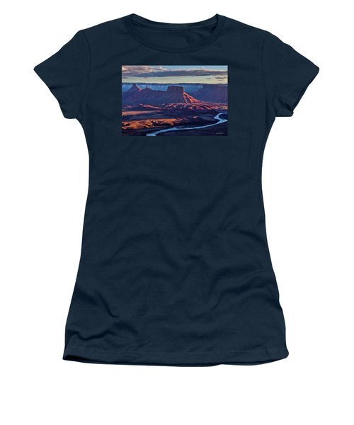 Sunset View From Omg Point Women's T-Shirt