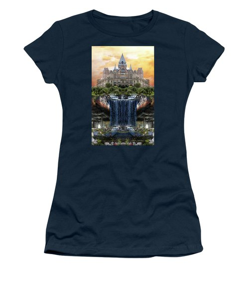 Supported Women's T-Shirt (Junior Cut) by Joan Ladendorf