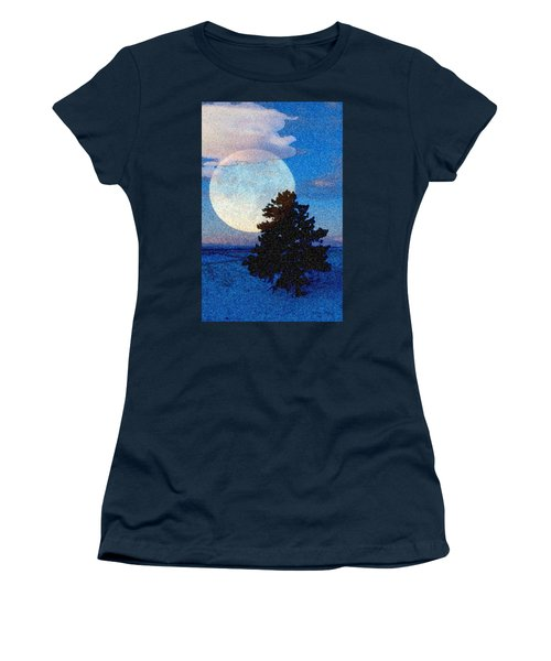 Surreal Winter Women's T-Shirt (Junior Cut) by Ruanna Sion Shadd a'Dann'l Yoder